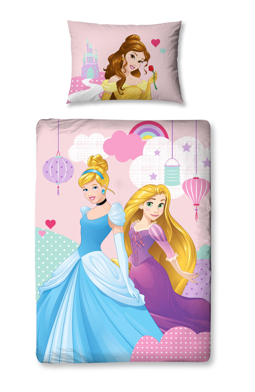 Disney princess 39 enchanteur 39 junior ensemble de housse de couette de lit b b ebay - Housse de couette princesse sofia ...