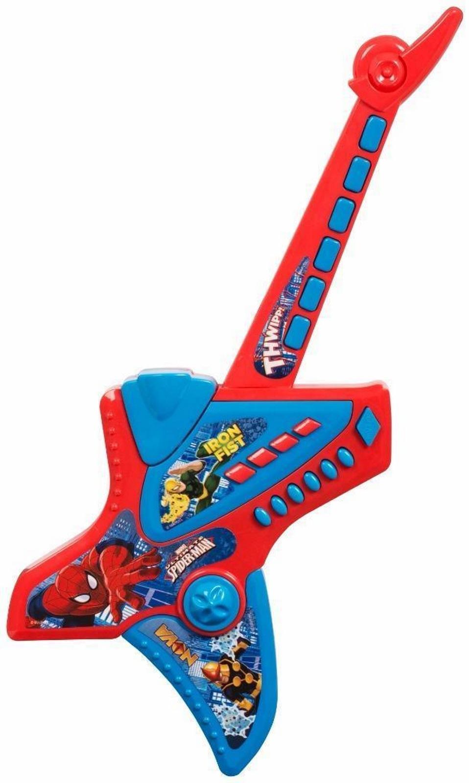New Marvel Spiderman Electronic Guitar Boys Girls Gift