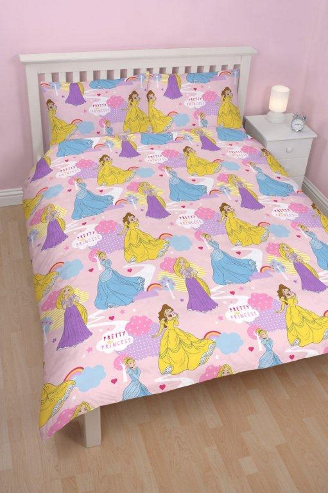 Disney princess enchanteur double literie r versible for Literie couette