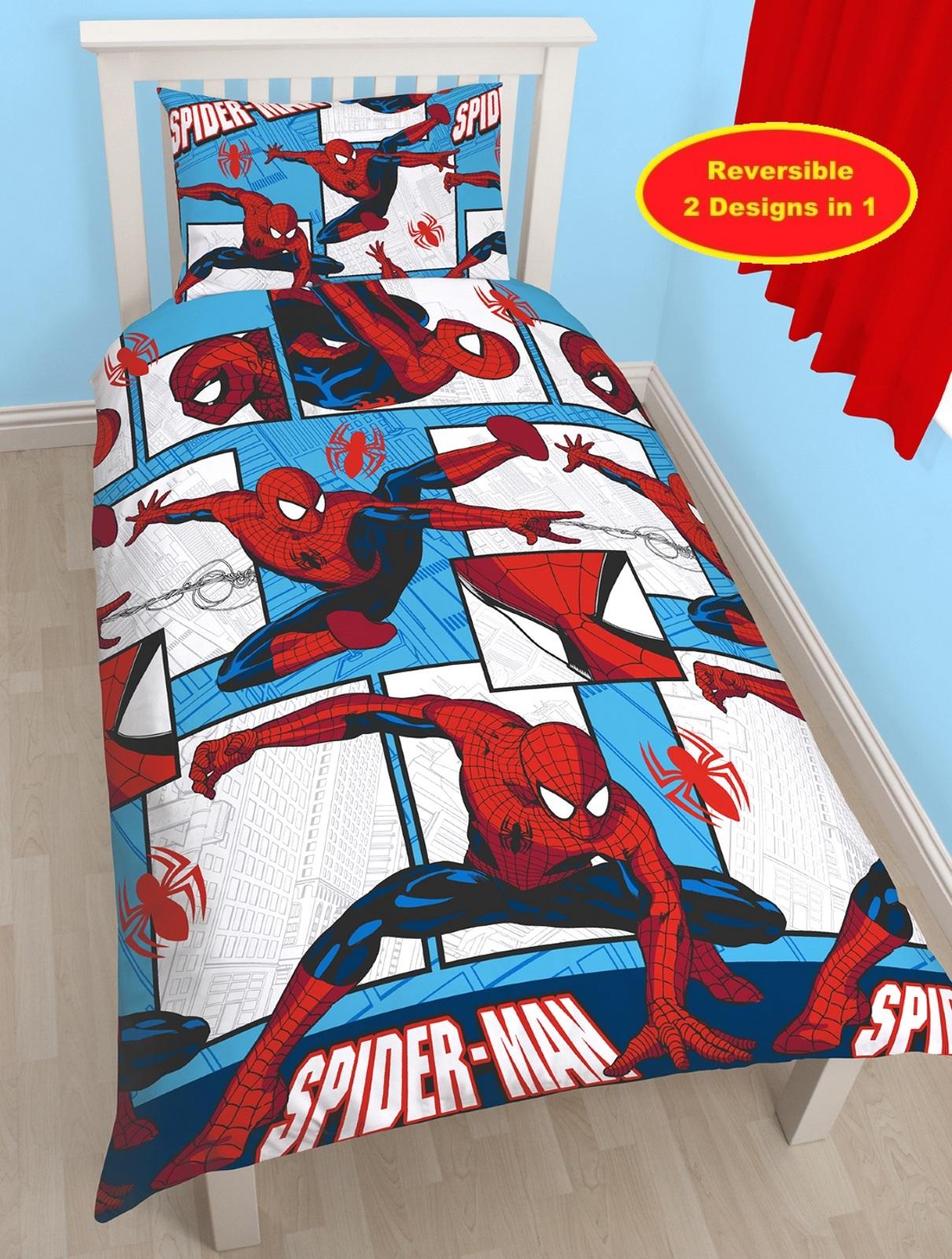 Boys Character Single Quilt Duvet Cover Amp Pillowcase