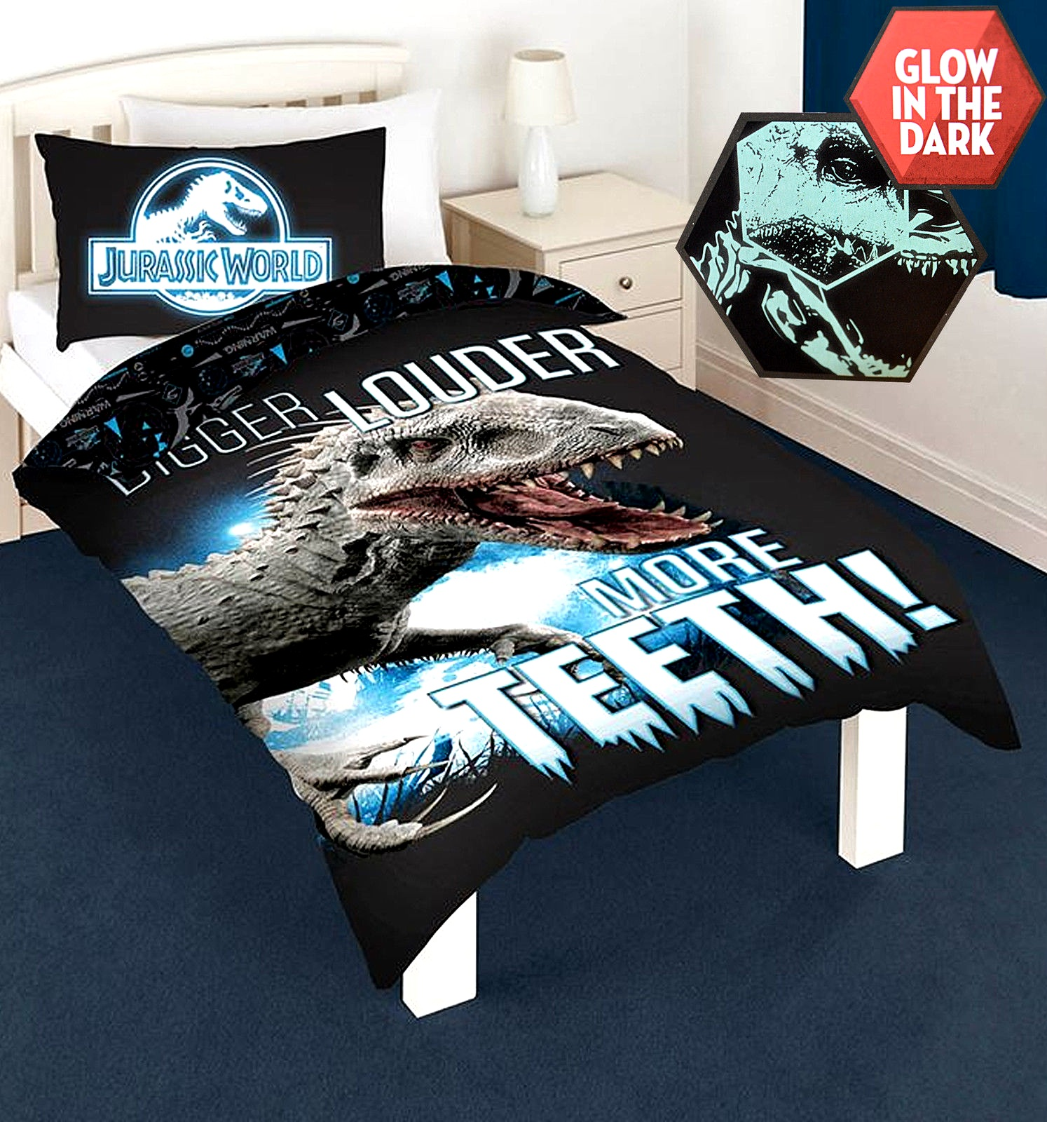 Jurassic World Park Accessories Duvet Quilt Cover