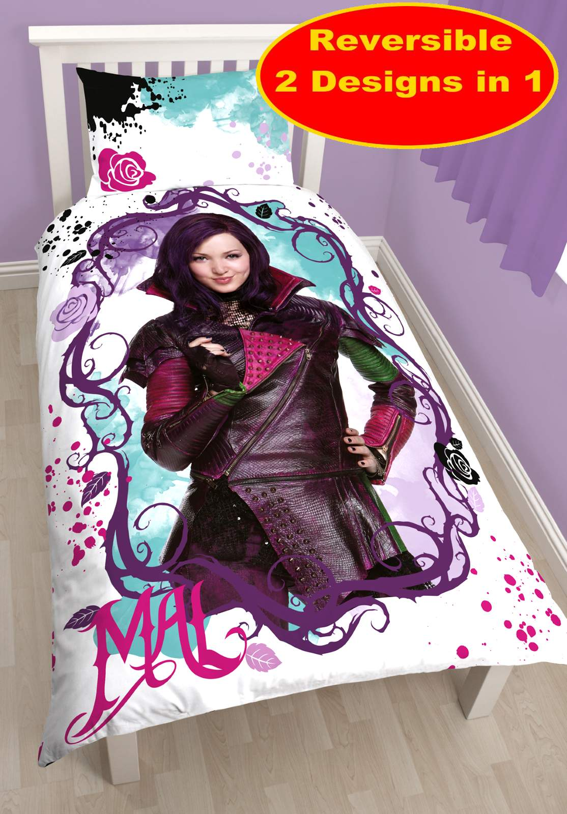 New Disney Descendants Villains Single Duvet Quilt Cover