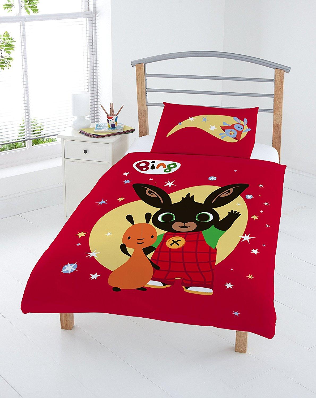 New Bing Bunny Junior Toddler Cot Bed Size Duvet Quilt