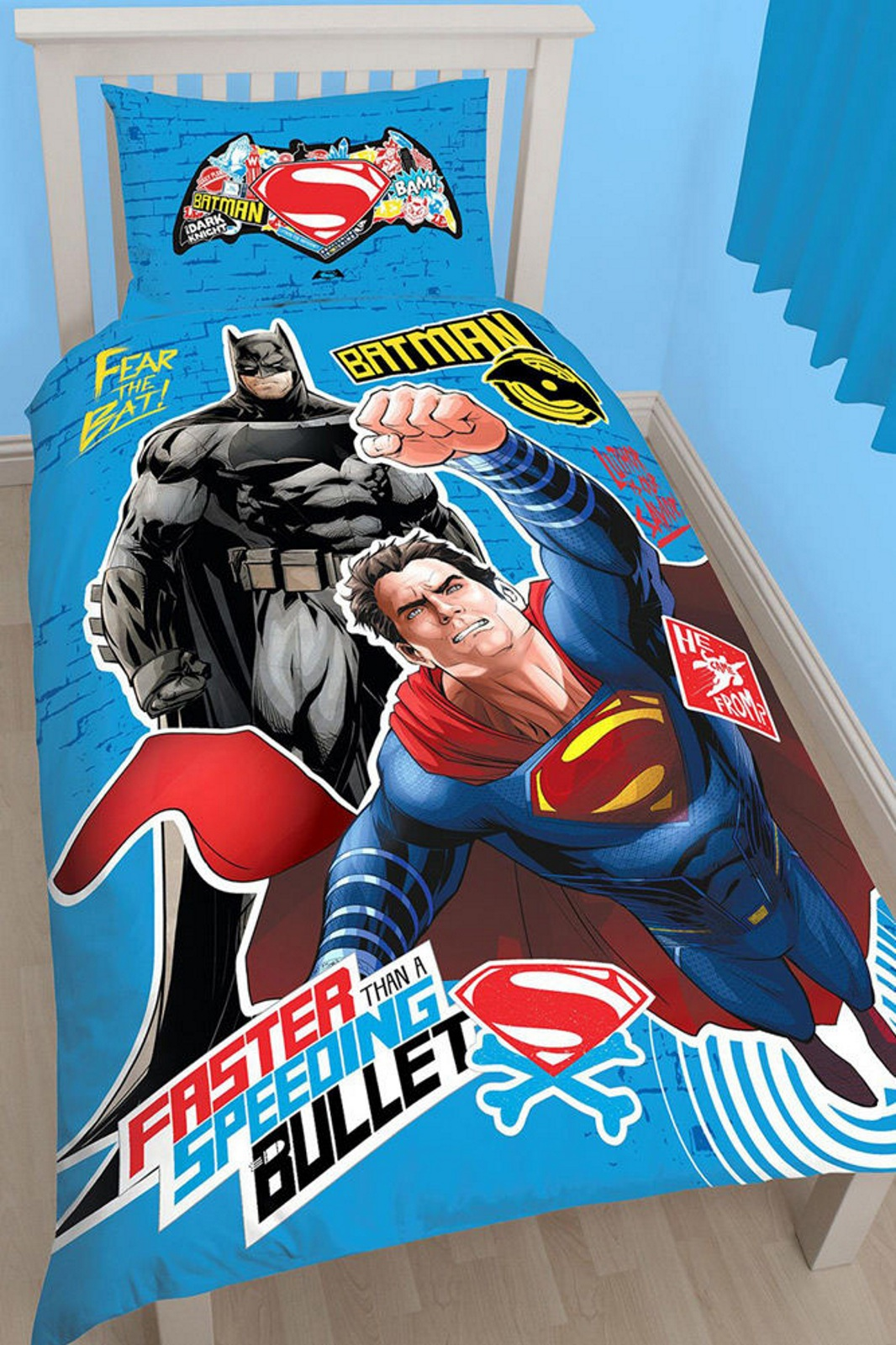 batman vs superman schlafzimmer zubeh r mengenauswahl eine. Black Bedroom Furniture Sets. Home Design Ideas