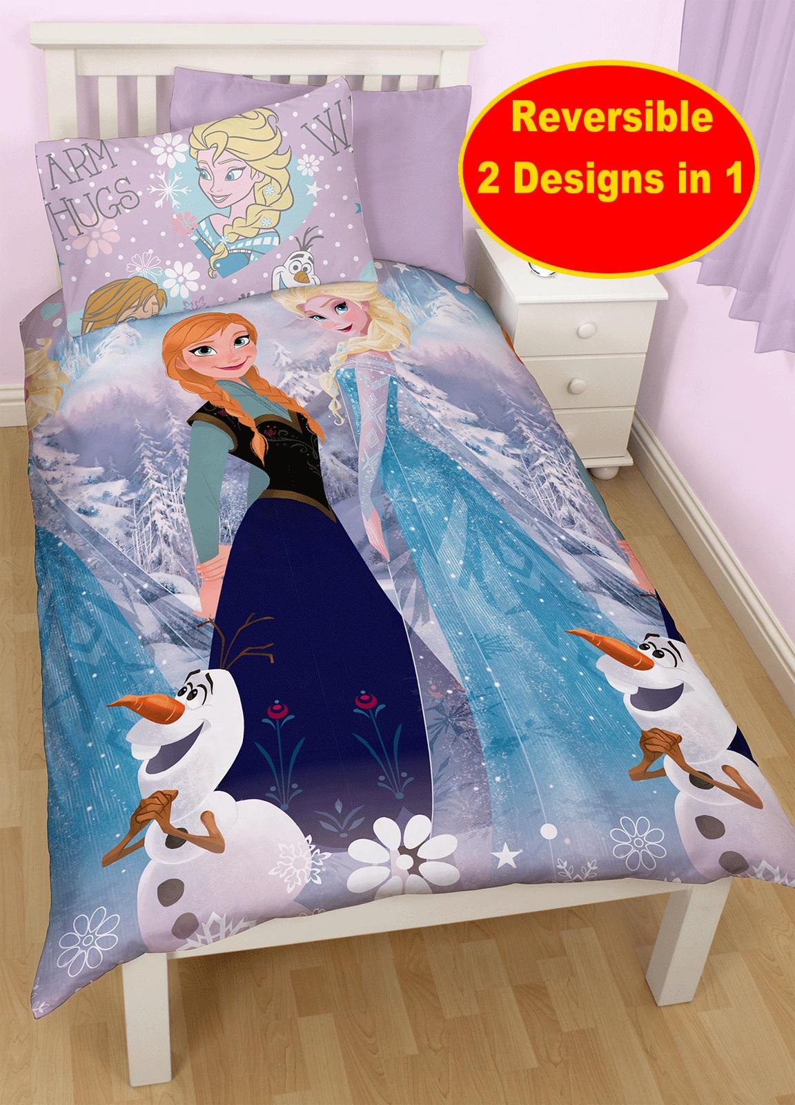 Disney frozen cristallo copripiumone letto singolo - Letto di frozen ...