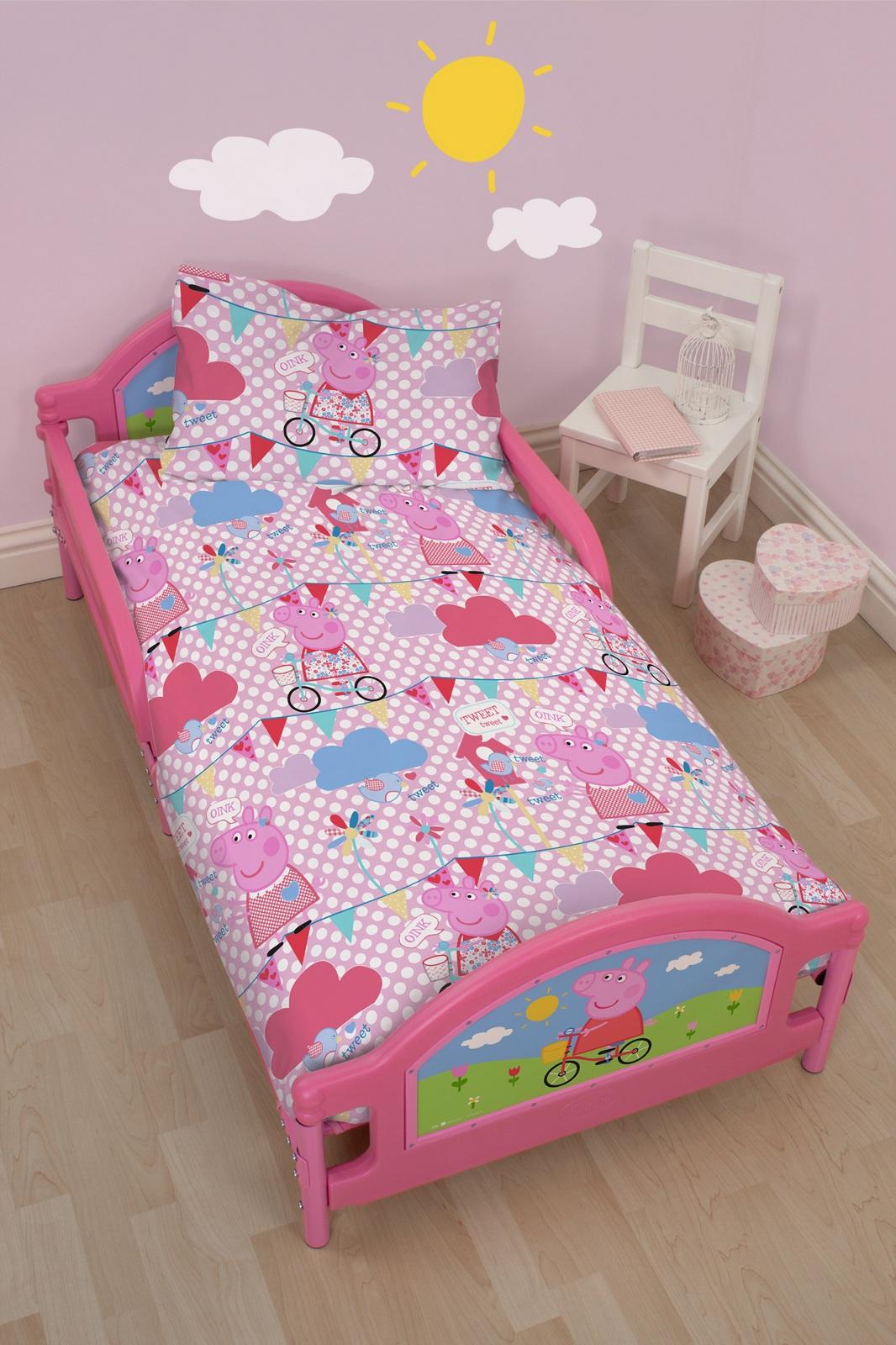 4 In 1 Children S Bedding Cot Bed Bundle Duvet Quilt