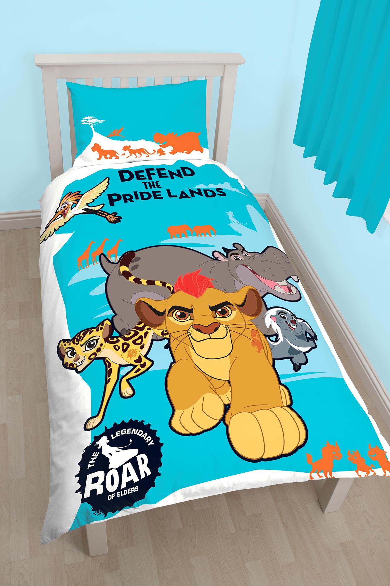 New The Lion Guard Pridelands Single Duvet Quilt Cover Set