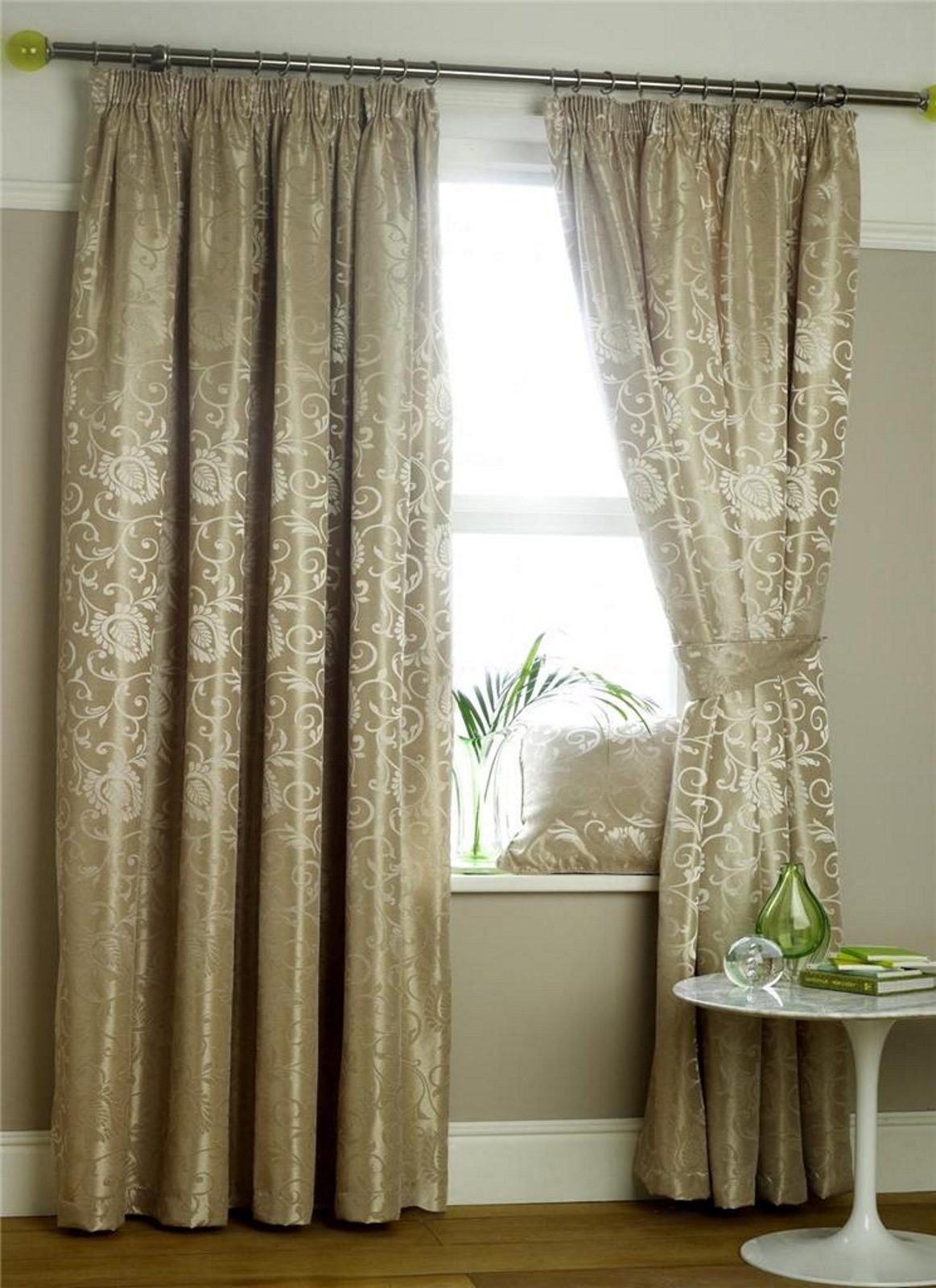 New luxury mirabel floral jacquard lined pencil pleat curtains panel voiles ebay - Captain america curtains ...