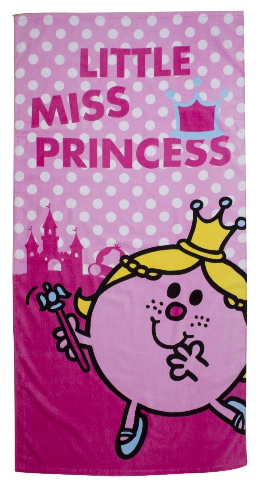 Mr Men Amp Little Miss Princess Crown Towel Beach Bath