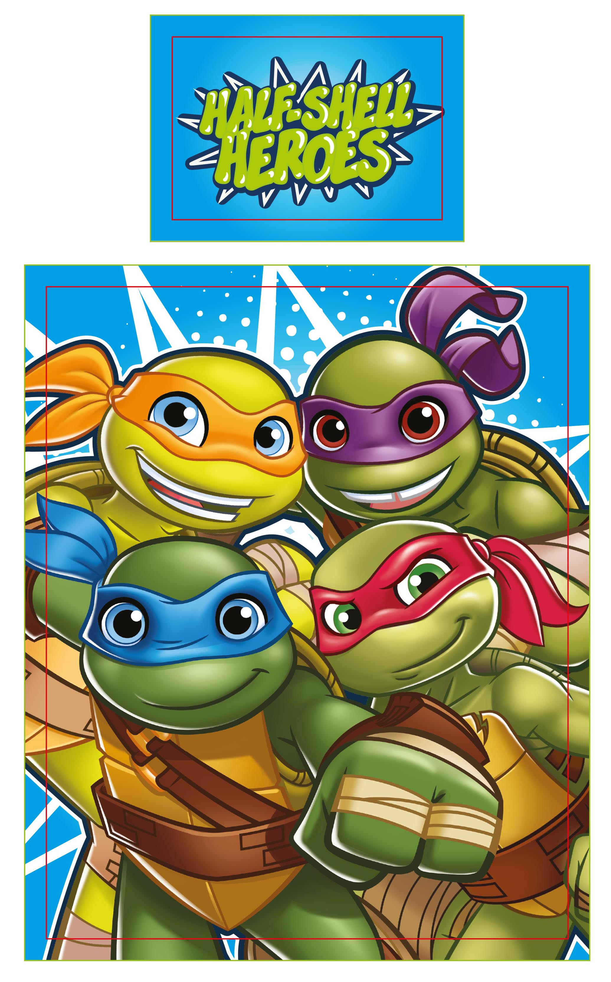 Teenage Mutant Ninja Turtles Half Shell Heroes Junior