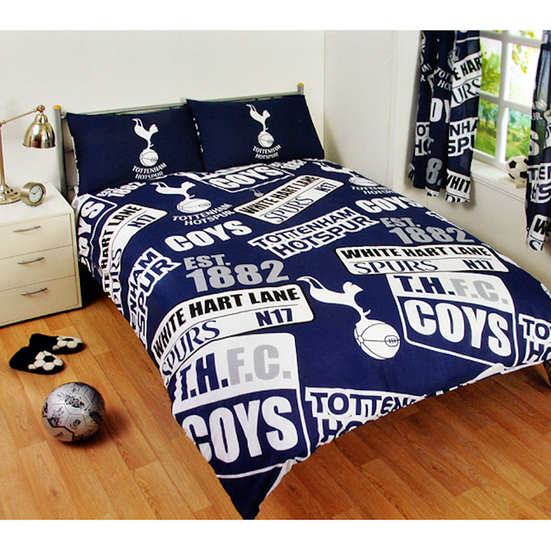 Spurs Bedding Double