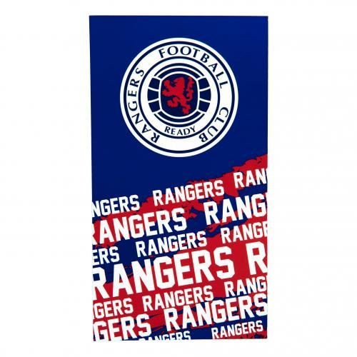 Extra Large Rangers Football Club Beach Bath Towel