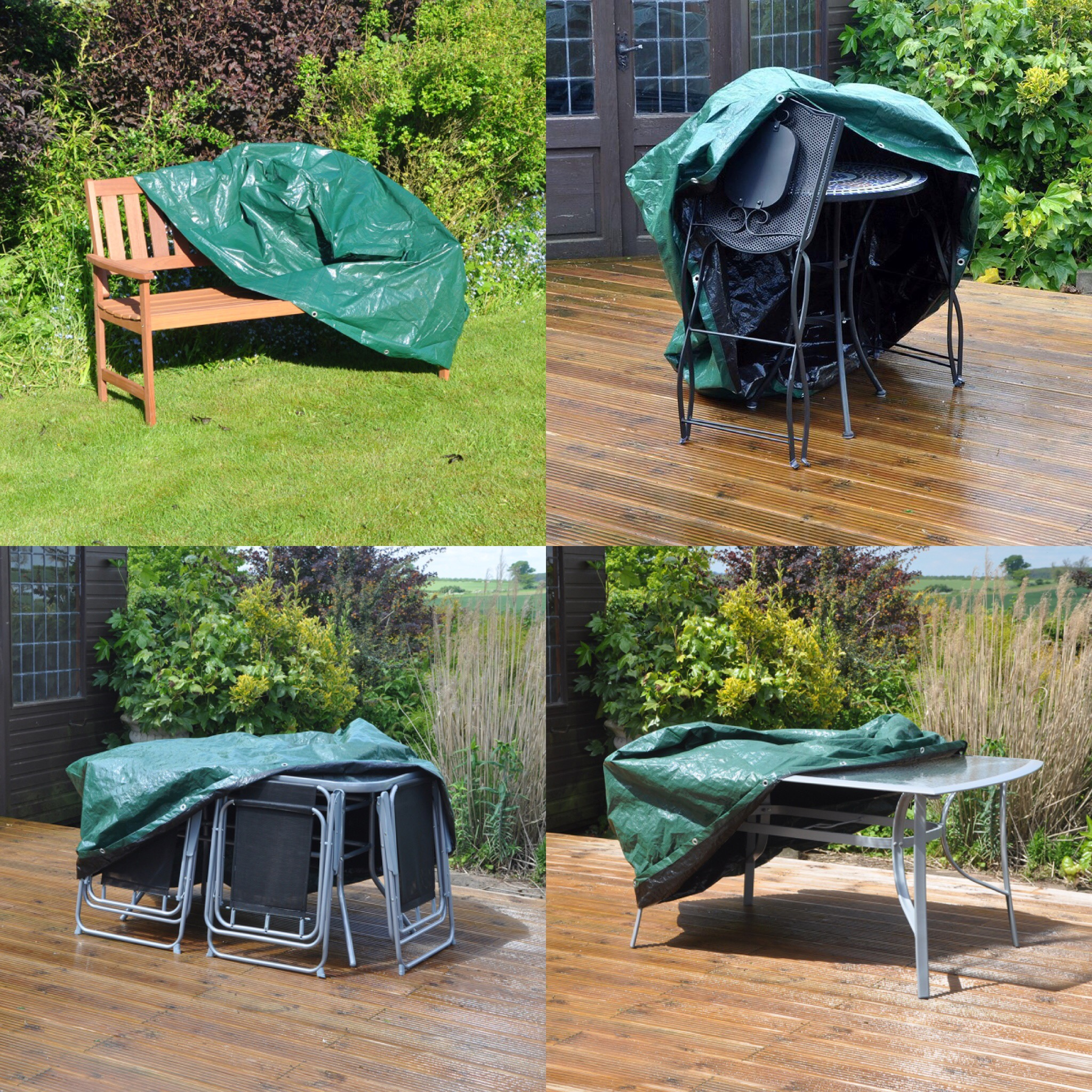 New Kingfisher Large Garden Furniture Waterproof Protector