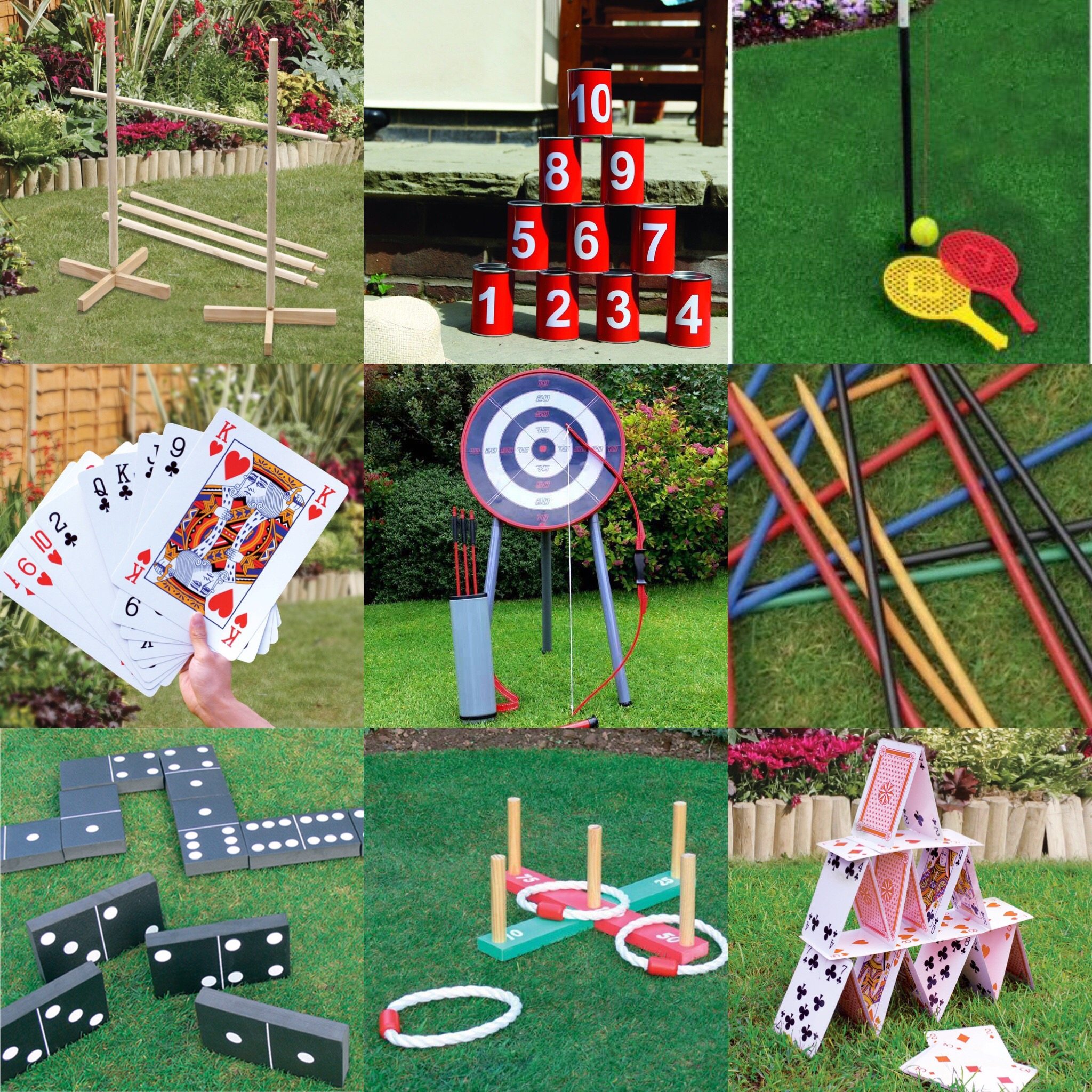 NEW KINGFISHER GARDEN OUTDOOR GAMES KIDS BOYS GIRLS ADULTS