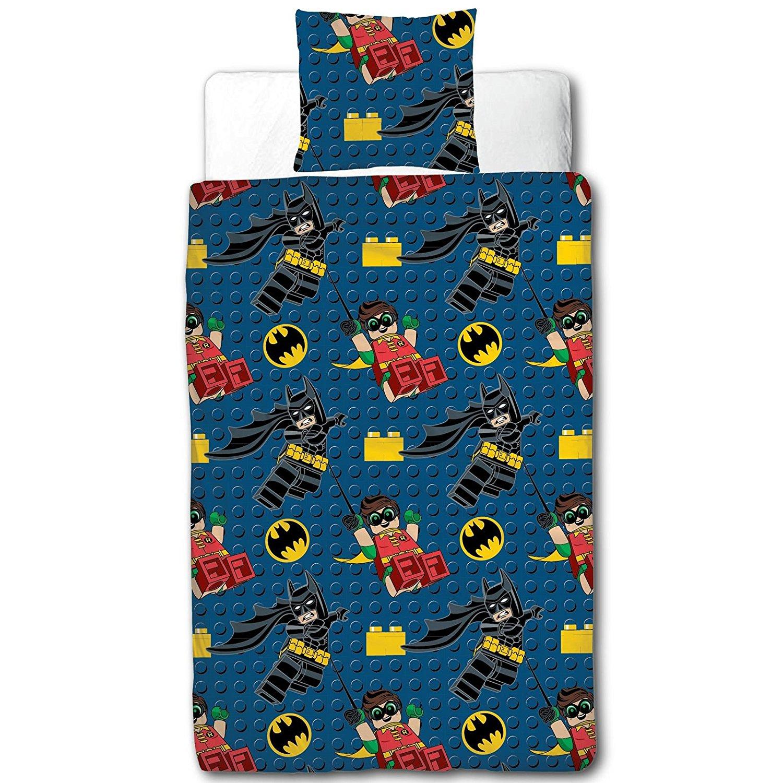 New Lego Batman Hero Single Duvet Quilt Cover Set Boys