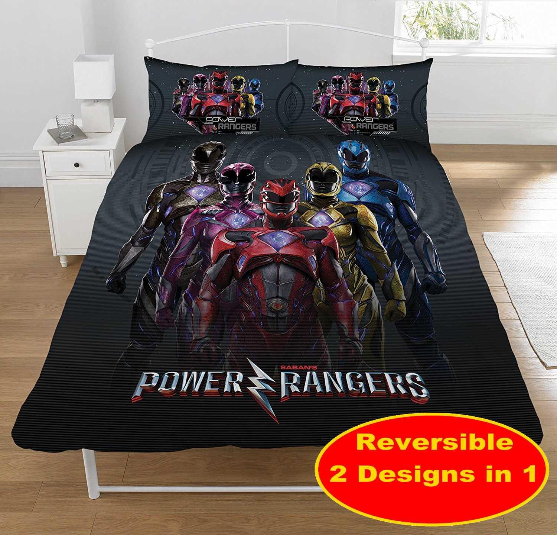 Power Rangers Wallpaper For Bedroom Power Rangers Within Movie Design Double Duvet Quilt Cover Set New