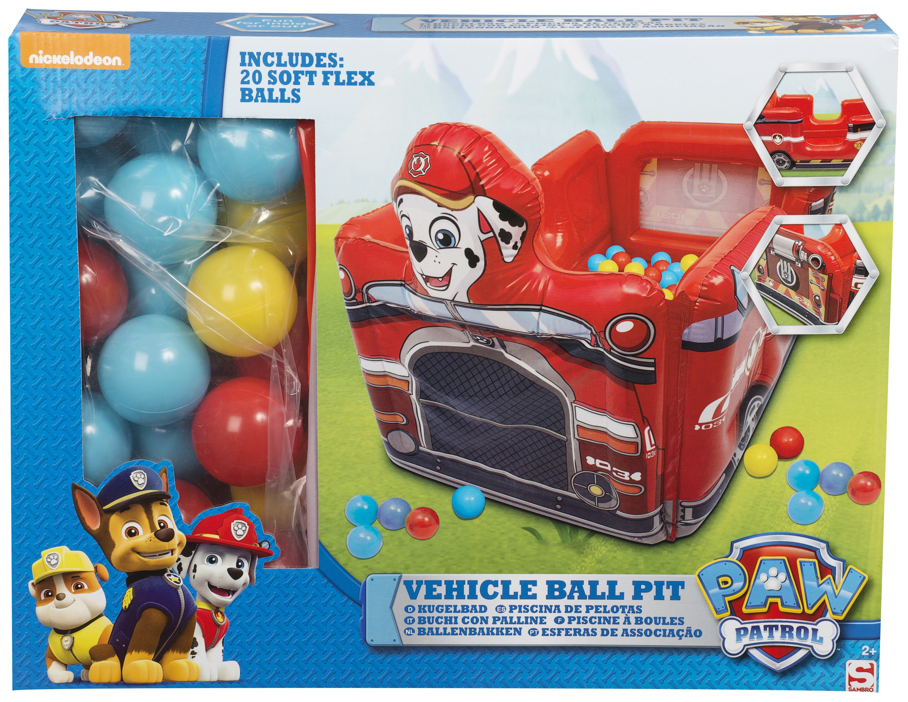 PAW PATROL INFLATABLE BALL PIT FUN HOUSE BOUNCY CASTLE