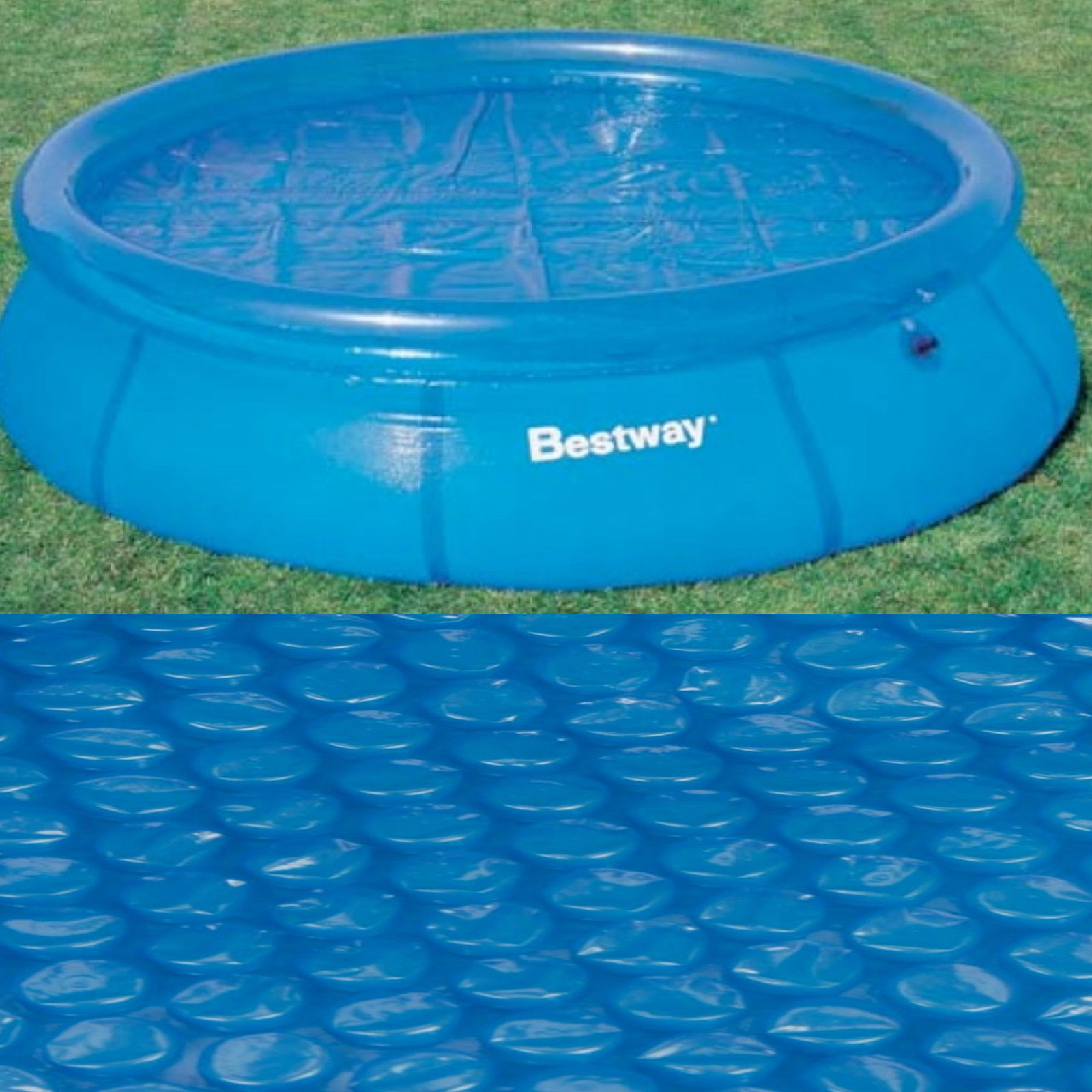 Bestway 10ft id al qualit solaire piscine housse protection sunlight chauf - Ideal protection piscine ...